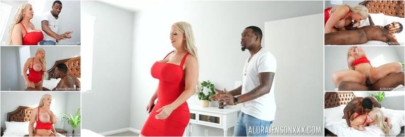 Alura Jenson - In Black Mail Interracial Ass Eating (UltraHD/4K)