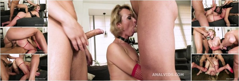 Cherry Aleksa - Cherry Aleksa Welcome to Porn with Balls Deep Anal, DP, Swallow (HD)