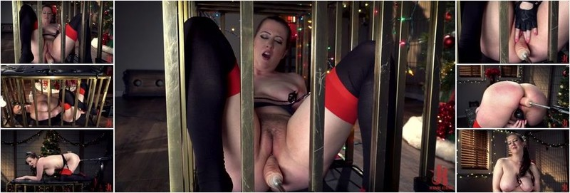 Cherry Torn - Cherry Christmas! Cherry Torn Is Caged For The Holiday (HD)
