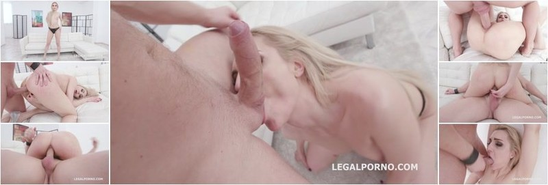 Caty Kiss, Mr. Anderson - Mr Anderson Anal Casting with Caty Kiss First time in porn, Balls Deep Anal, ATM, Gapes, Swallow (HD)
