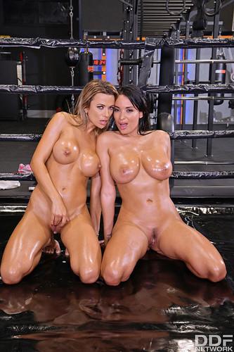 HandsOnHardcore.com -  Shalina Devine & Anissa Kate - An XXX-Treme Workout Regimen - Part 2