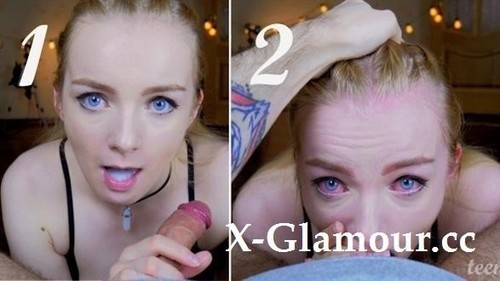 """Teenanna in """"He Fast Cum Twice In My Mouth And Throat! Throatpie"""" [FullHD]"""