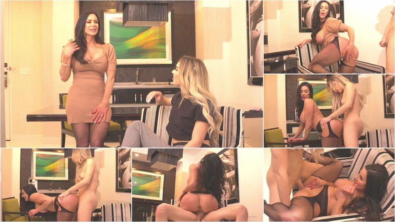 Kendra Lust, Emma Rose - My First Ever TS Scene Is Here [FullHD 1080p]