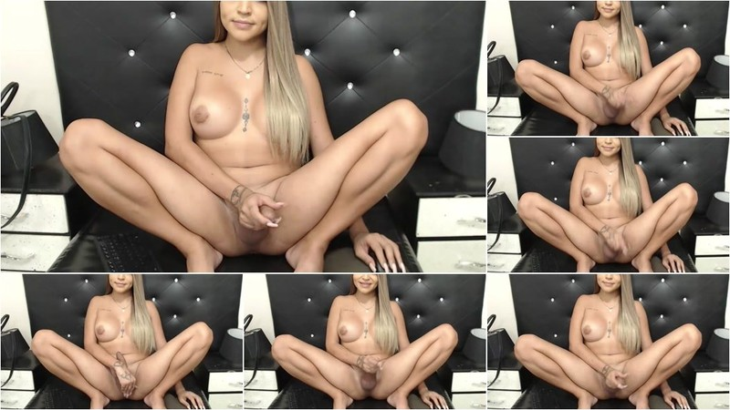 Trans Girl - Cam Show Various TGirls 14 Jan [HD 720p]