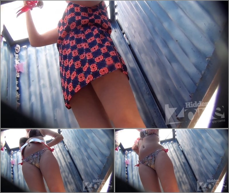 Beach Cabin-Voyeur Video 3177