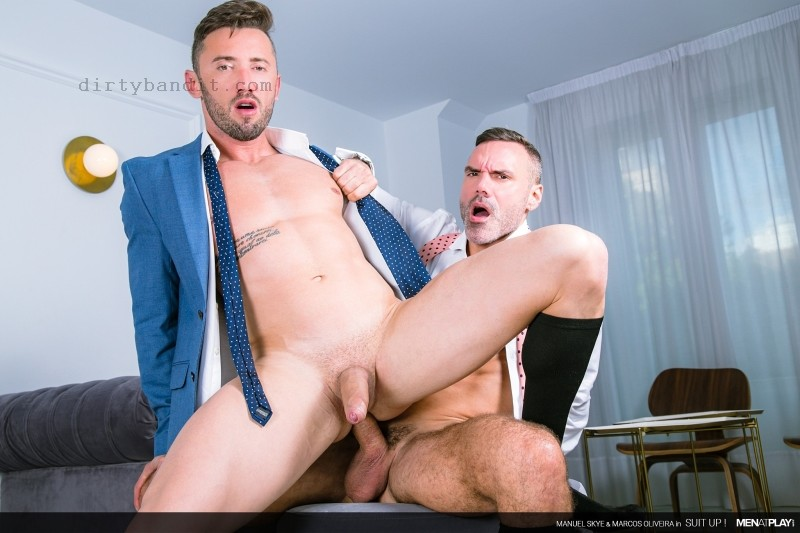 MenAtPlay - Suit Up!: Manuel Skye, Marcos Oliveira (Bareback) (Jan 15)