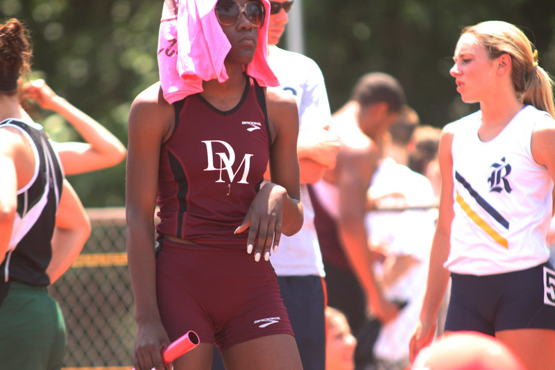 black college athlete girl in candid spandex