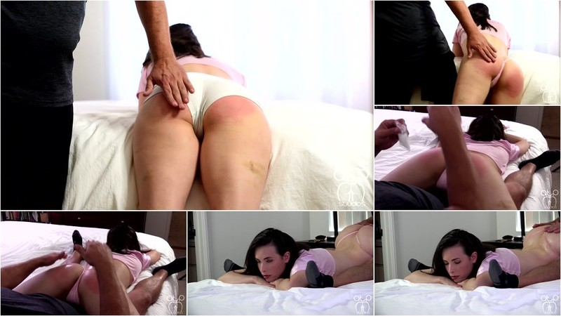 Casey Calvert - The Coach's Favorite - Spread, Oiled, Paddled [HD 720p]