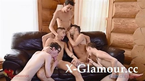 Amateurs - Gay Gang Bang Gets Explosive In Quebec (FullHD)