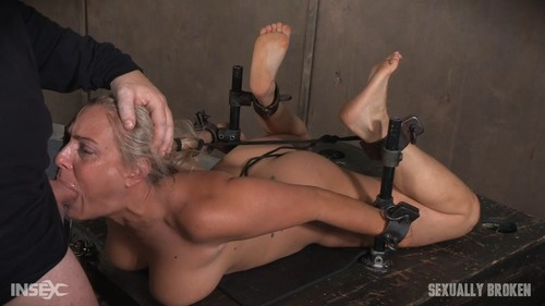 Angel Allwood - MILF Is Hogtied And Face Fucked Into Oblivian