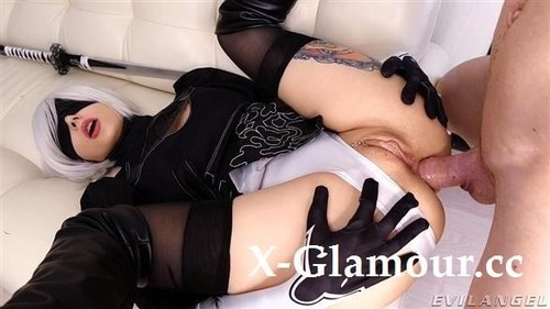 2B Anal And Pussy Fuck With Creampie [SD]