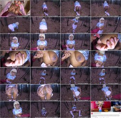 [SheIsNovember] - Msnovember - Publicly Crawling and Degraded by her Dangerous StepDad Squeezing her Giant (2021 / FullHD 1080p)