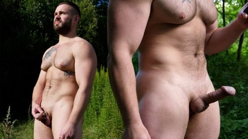 TheGuySite - Max 2: Big Pec Russian In The Woods (Jan 27)
