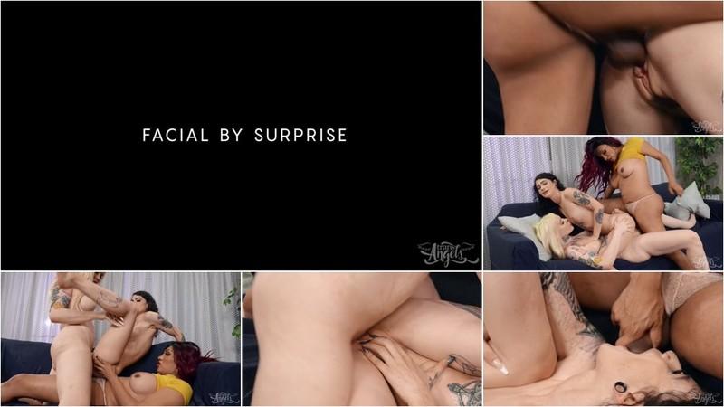 Jessy Dubai, Gracie Jane - Jessy Dubai And Gracie Jane Facial By Surprise [HD 720p]