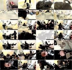 [HotFetLife] - HotFetLife - Heavy Rubber Latex Piss Fetish - Blowjob Handjob Femdom - Catheter Treatment - Part 1 (2021 / HD 720p)