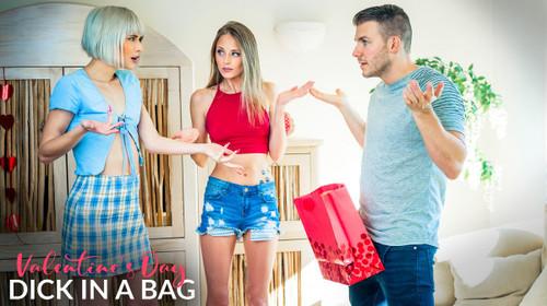 Jessie Saint, Kyler Quinn - Valentines Day Dick In A Bag