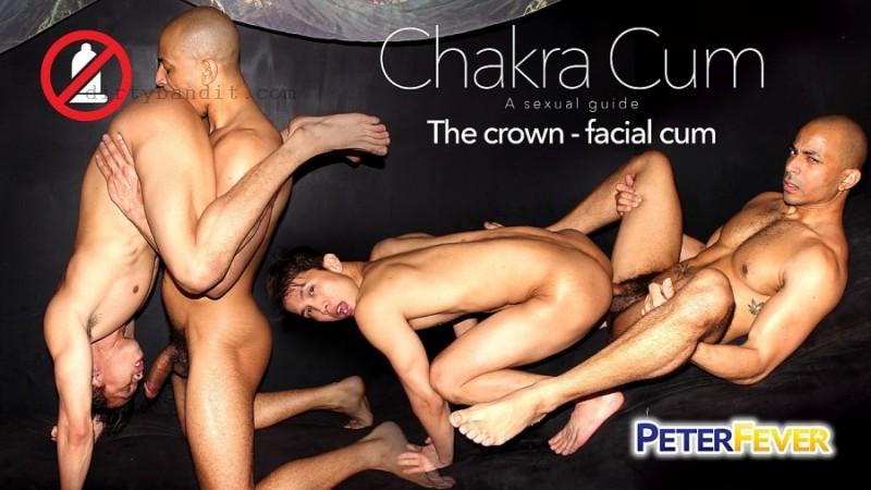 PeterFever - Chakra Cum 2, The Crown Facial Cum: Levy, Zario Bareback (Feb 9)