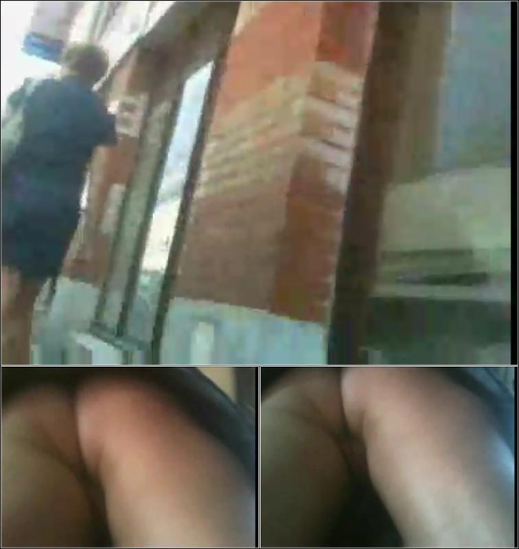 Upskirt No Panties 4214
