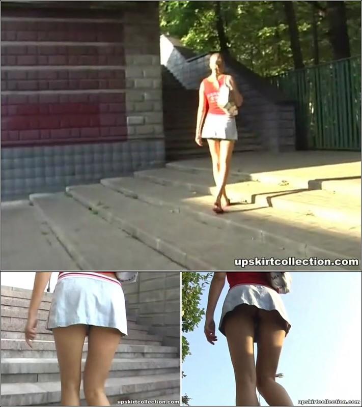 Upskirt No Panties 4137
