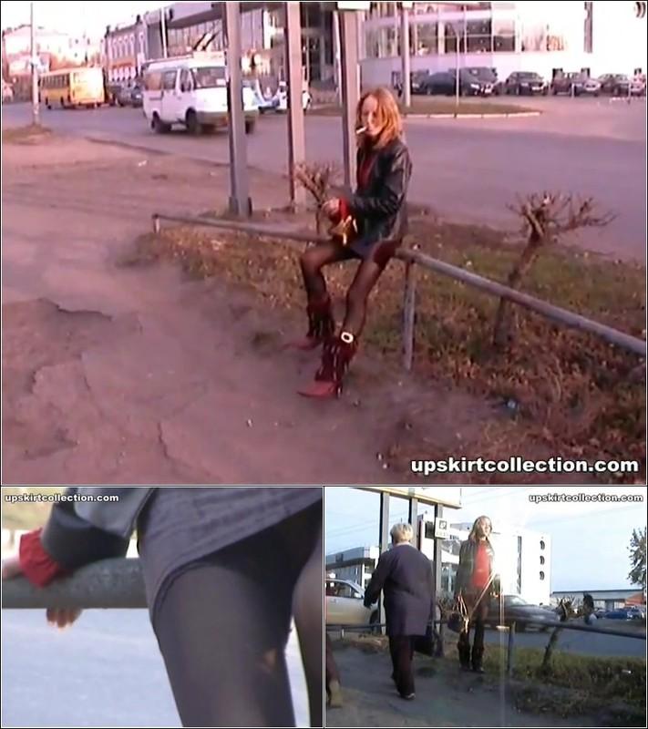 Upskirt No Panties 4156