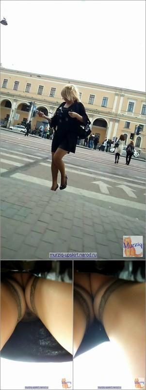 Upskirt No Panties 4104
