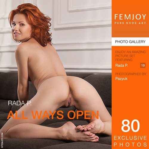 Rada P - All Ways Open (x80)
