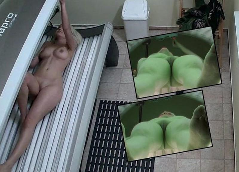 Sauna solarium 451