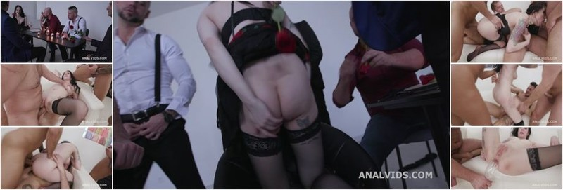 Anna de Ville - St valentine's goes Well, Anna de Ville Messy fantasy with Balls Deep Anal, DAP, Gapes, Buttrose and Anal creampie (HD)