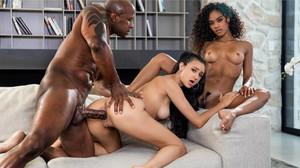 (Blacked) - Under The Influencer (La Influencer) - Eliza Ibarra, Scarlit Scandal & Prince Yahshua [16-02-2021]