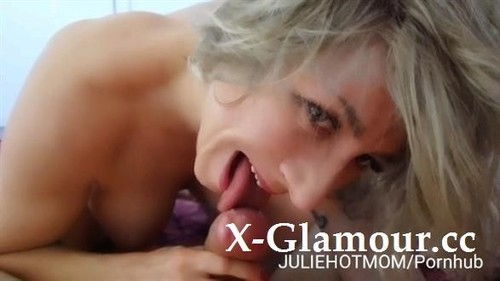 Holidays With Stepmom 1 - The Best Blowjob Of My Mom To Wake-Up Me Of Bed [HD]