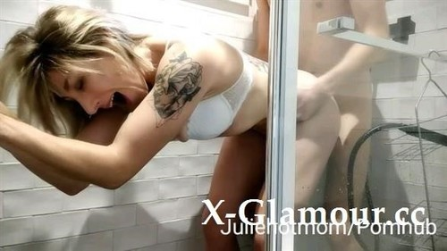 Stepmom Bathroom, My Stepmother Joins Me In The Shower And Wants Cum In Her [HD]